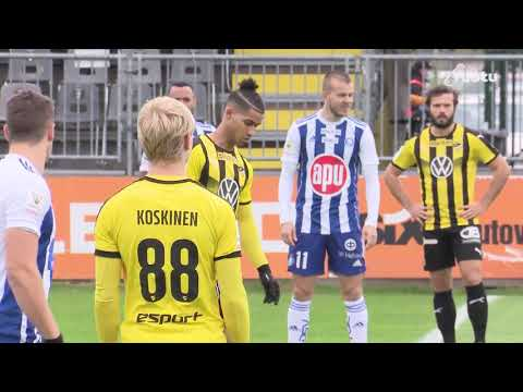 Honka HJK Helsinki Goals And Highlights