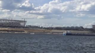 Volgograd / Волгоград. Строительство стадиона и строительство Набережной (июнь 2017)