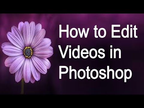 How to Edit Videos in Photoshop ( in Tamil )