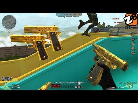 Crossfire NA 2.0 : Dual Colt GoldSmith - Hero Mode X - Zombie V4