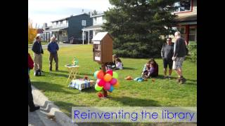 Little Free Libraries: A Community's Mini-agora: Janet Clarke At Tedxwhitehorse