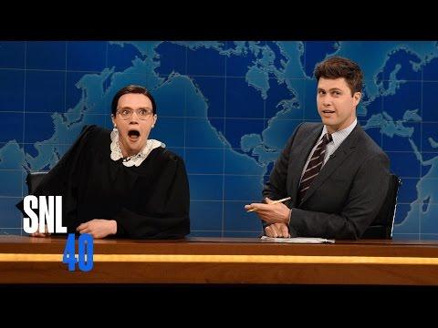 Weekend Update: Ruth Bader Ginsberg - Saturday Night Live