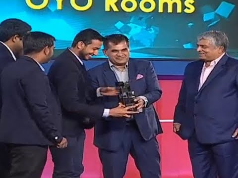 OYO Rooms wins Startup of the Year | ET Startup Awards 2018