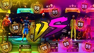 LEGEND WARS EVERY 99 OVERALL IN ONE GAME! NBA 2K19