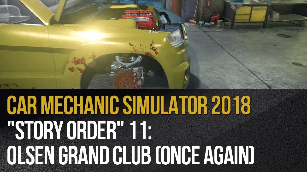 Zlecenie 11 Olsen Grand Club Zlecenie W Car Mechanic Simulator