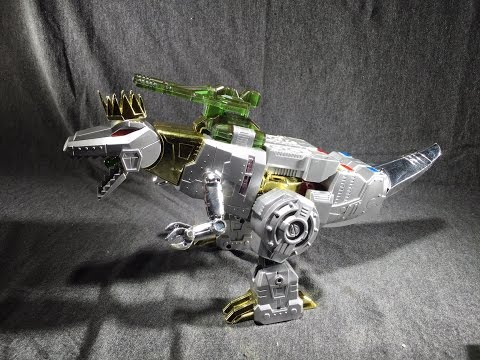 D01 Dinosaur King (Not Transformers Grimlock) Review