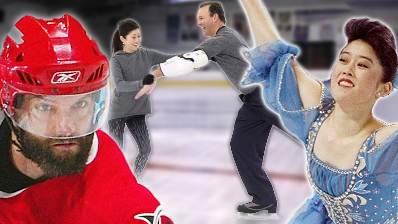 Dancing on ice stars dating hockey
