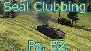 World of Tanks - E24 Ace Tanker Seal Clubbing Pz. B2