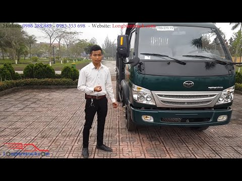 Xe tải ben TMT Cửu Long 4.5 tấn giá tốt giao xe toàn quốc số lượng có hạn