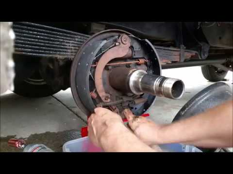 Rv Life No Rear Brakes Full Rear Brake Job Youtube