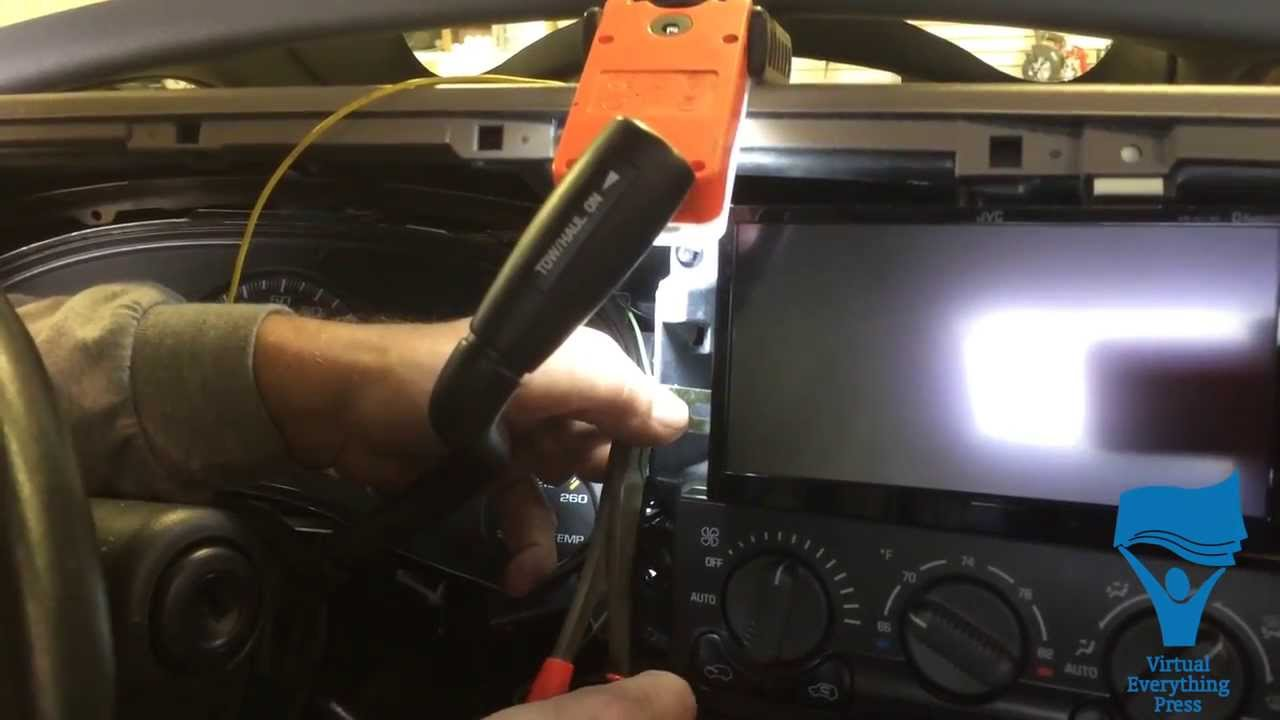 Installing A 2 Din Radio Into 2002 Chevy Avalanche 1 Space Double Wiring Diagram Youtube