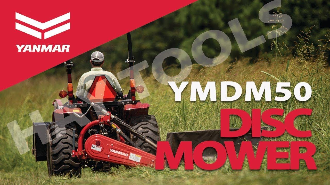 Harvest Hay Tools 1: Yanmar YMDM50 Compact Disc Mower for Hay Harvest -  Yanmar Tractor