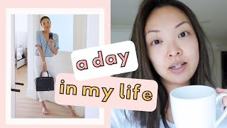 A DAY IN MY LIFE | Morning Beauty Routine + Lunch Date OOTD