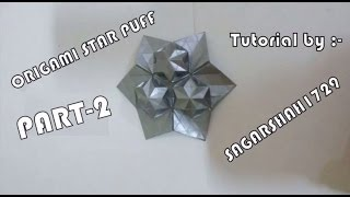 Origami Star Puff Tessellation Part-2
