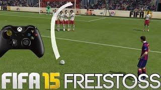 Fifa 15 Freistoss Tutorial | Xbox & Playstation HD Thumbnail