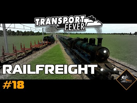 Rail Freight Expansion | Transport Fever | North Atlantic #18