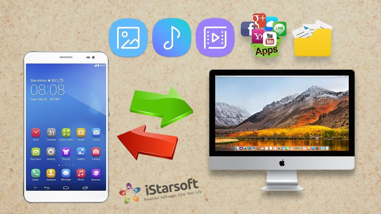 How to Connect Huawei Phone to Mac with dr fone - Transfer (macOS 10 13  High Sierra Included)