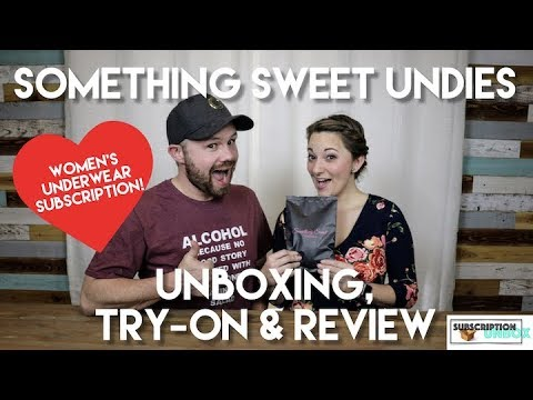Something Sweet Undies Unboxing & Review!. http://bit.ly/2lJuCee