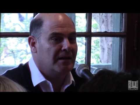 Matthew Weiner discusses subjectivity and the color blue
