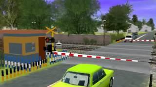 Palang kereta api(animasi)
