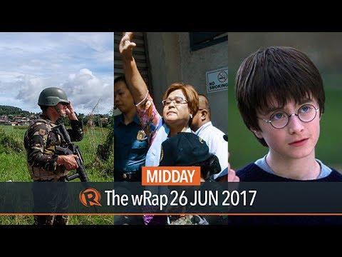 Marawi ceasefire, De Lima, Harry Potter | Midday wRap