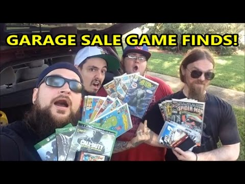 Garage Sale Game Finds Amp Big Pawn Shop Score With