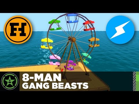 Let's Play - 8-Man Gang Beasts
