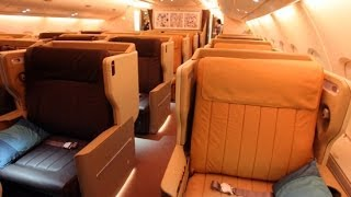 SINGAPORE AIRLINES BUSINESS CLASS 5* EXPERIENCE ZRH-SIN