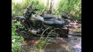 Неизвестные тропы в окрестностях Екатеринбурга на мотоциклах Урал.