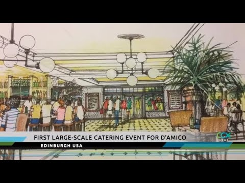 Catering Company Has First Large-scale Event At Edinburgh USA