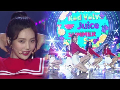《EXCITING》 Red Velvet(레드벨벳) - Red Flavor(빨간 맛) @인기가요 Inkigayo 20171001