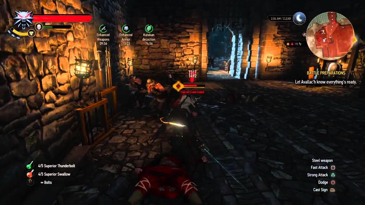 Witcher  Op Build