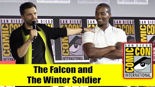 Download THE FALCON and THE WINTER SOLDIER | 2019 Marvel Comic Con Panel (Sebastian Stan, Anthony Mackie) Mp3 and Videos