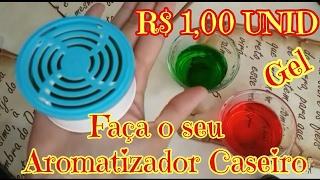 FAÇA POR 1,00 SEU GLADE AROMATIZADOR EM GEL CASEIRO