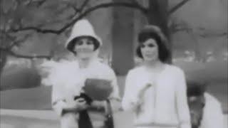 Video April 12, 1962 - Mrs. Jacqueline Kennedy and the Empress Farah Pahlavi tour the White House Grounds download MP3, 3GP, MP4, WEBM, AVI, FLV Juni 2018