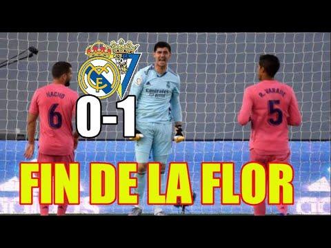 SE ACABÓ LA FLOR | REAL MADRID 0-1 CADIZ