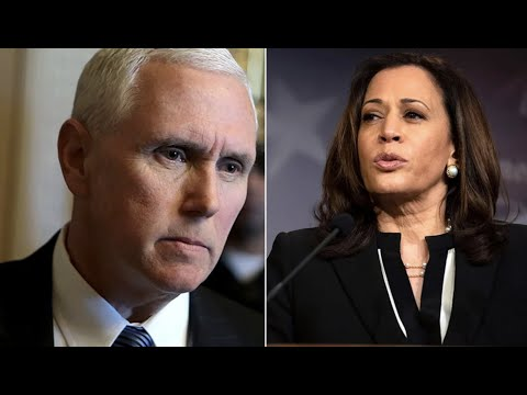 Pence responds to Kamala Harris being chosen as Joe Biden's Vice President