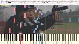 Случайная - LOBODA  (Ноты и Видеоурок для фортепиано) (piano cover)
