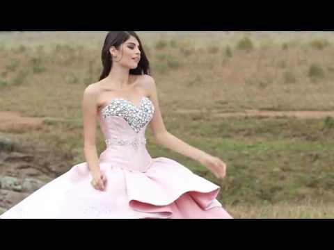 eeb0ee0172b Beaded Strapless Quinceanera Dress by Ragazza Fashion Style B81-381 ...