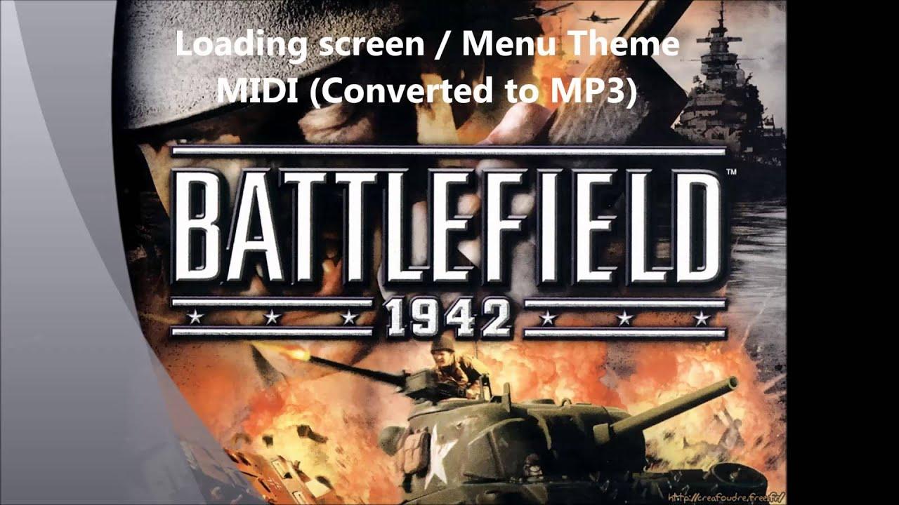 Battlefield 1942 Menu Theme MIDI (Full Ensemble, Converted to MP3)