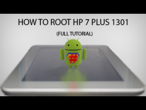 How to Root Hp 7 Plus 1301 and Install TWRP