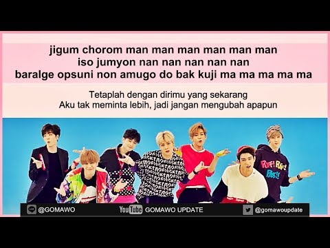 Easy Lyric GOT7 - JUST RIGHT by GOMAWO [Indo Sub]