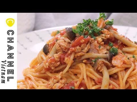 Đơn giản mà lại ngon! Làm mì Ý bằng lò vi sóng 🍝