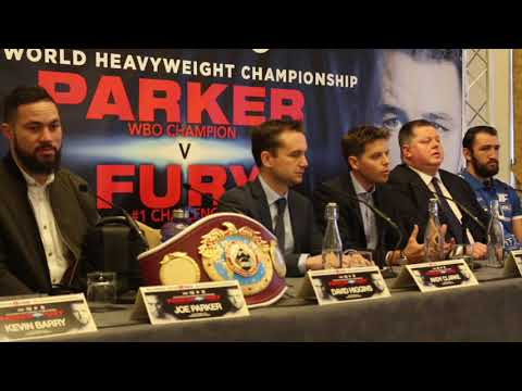 HEATED!!!!! JOSEPH PARKER v HUGHIE FURY **FULL & UNCUT** LONDON PRESS CONFERENCE / PARKER v FURY