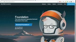 Say No to Bootstrap and yes to Foundation Zurb responsive grid layout (tutorial)