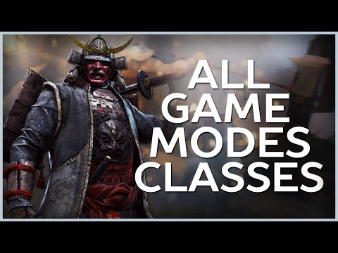 All Multiplayer Game Modes and Heroes - For Honor