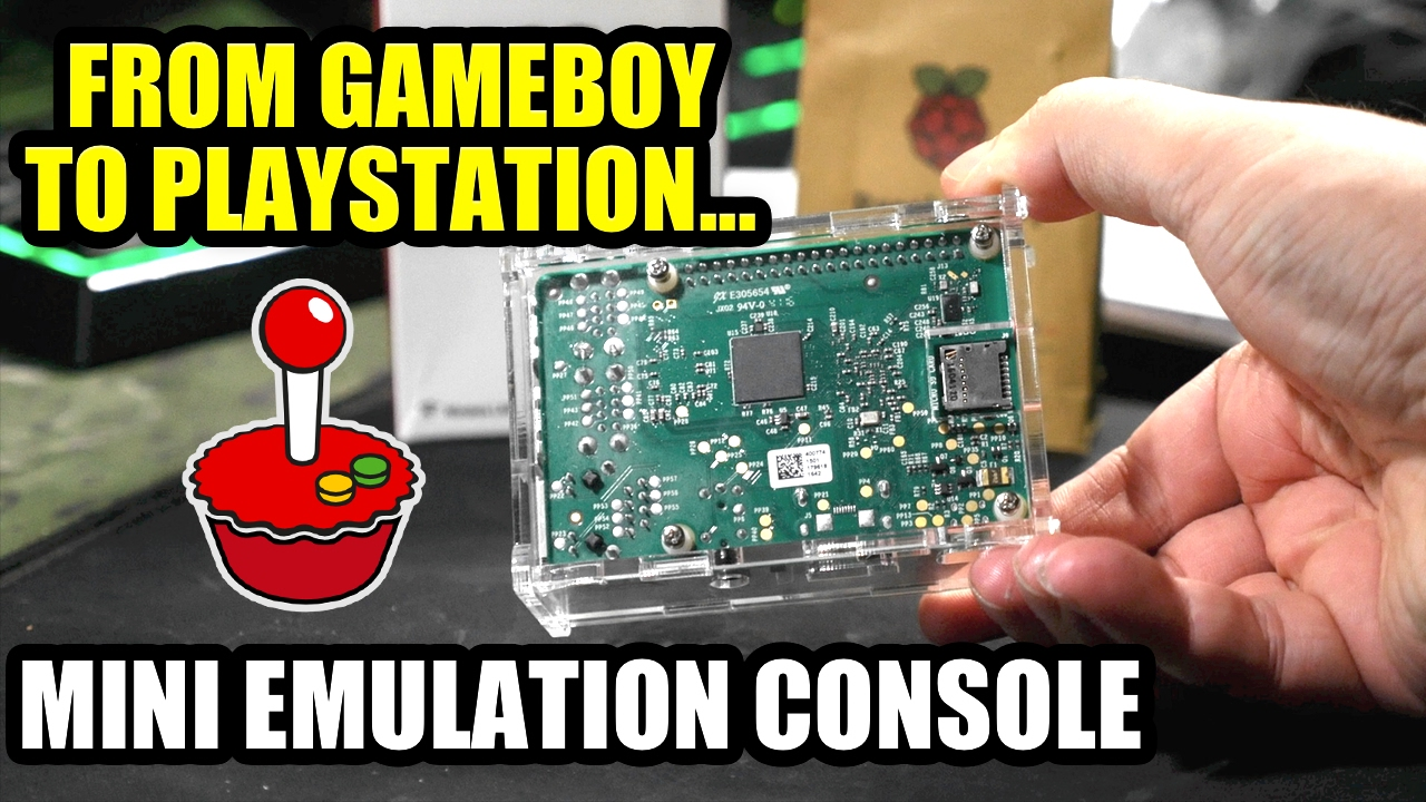 Retro Game Emulation With RetroPie, From Gameboy to N64 & Playstation…
