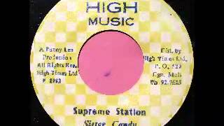 SISTER CHARMAINE - Foreign mind + version (1982 High music)