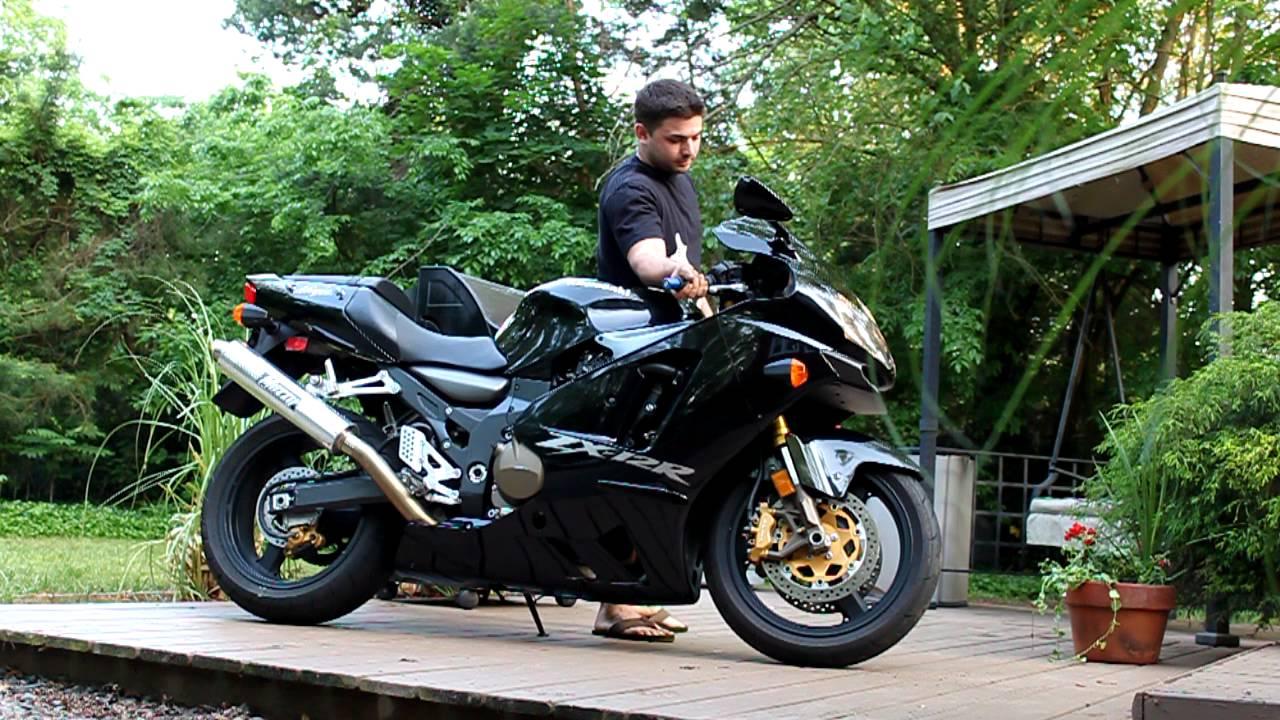 Kawasaki Ninja R Full Exhaust