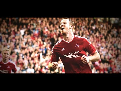 Adam Rooney | Aberdeen FC | Goals, Skills & Assists 2014/15 | HD